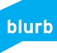 Blurb logo link to blurb